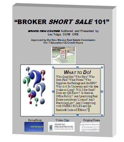 Broker Short Sale 101
